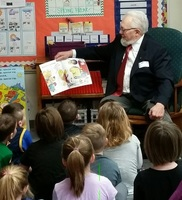 Manton Rotary Donates Books to Kindergarteners