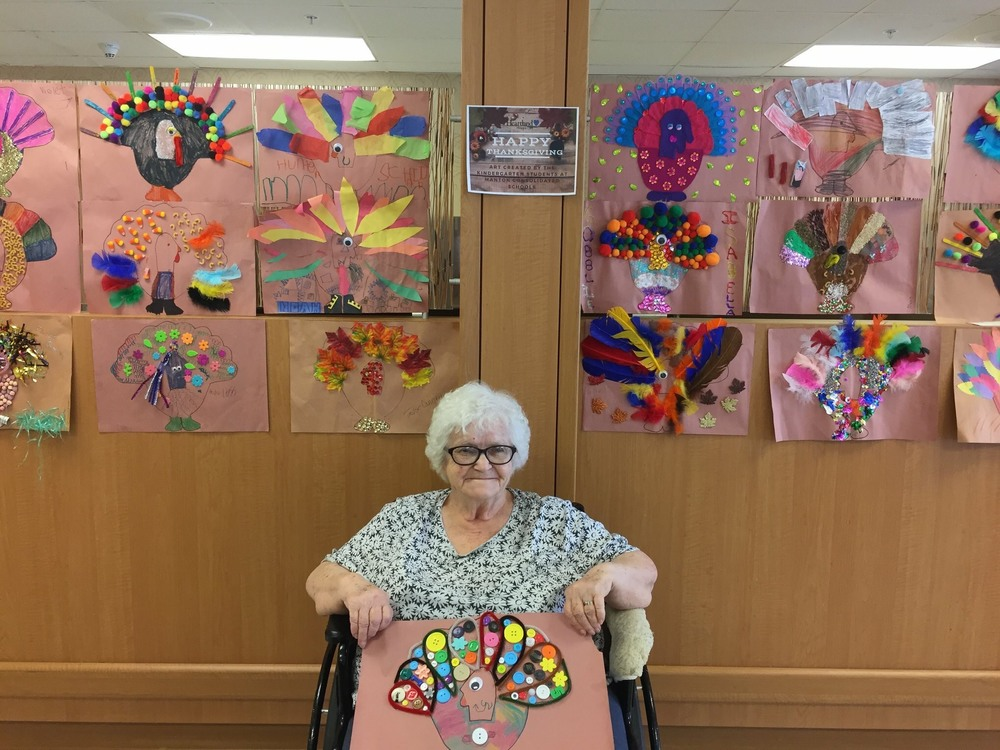 Kindergarten Art Work on Display in Traverse City