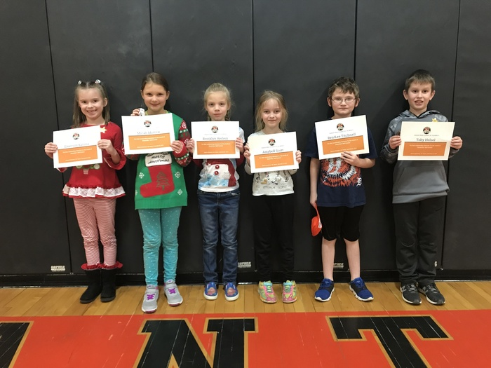 1st/2nd Grade Ranger Pride Students
