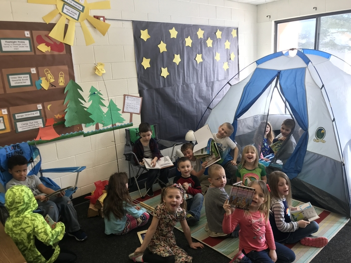Students enjoy Camp Read-A-Lot
