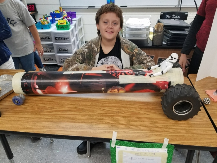 Kinetic Energy Car
